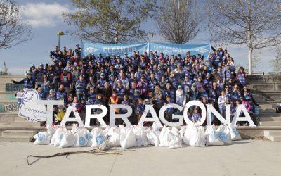 Empleados y familiares de Dow realizan una actividad de limpieza del río Francolí con Mare Terra – Fundació Mediterrània