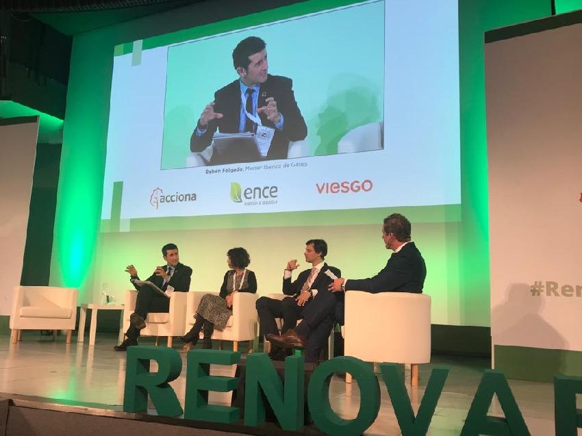 Rubén Folgado defiende el papel de la Industria en el Congreso Nacional de Energías Renovables que se celebra en Madrid