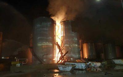 Una explosión en la planta de Iqoxe causa dos muertos y ocho heridos