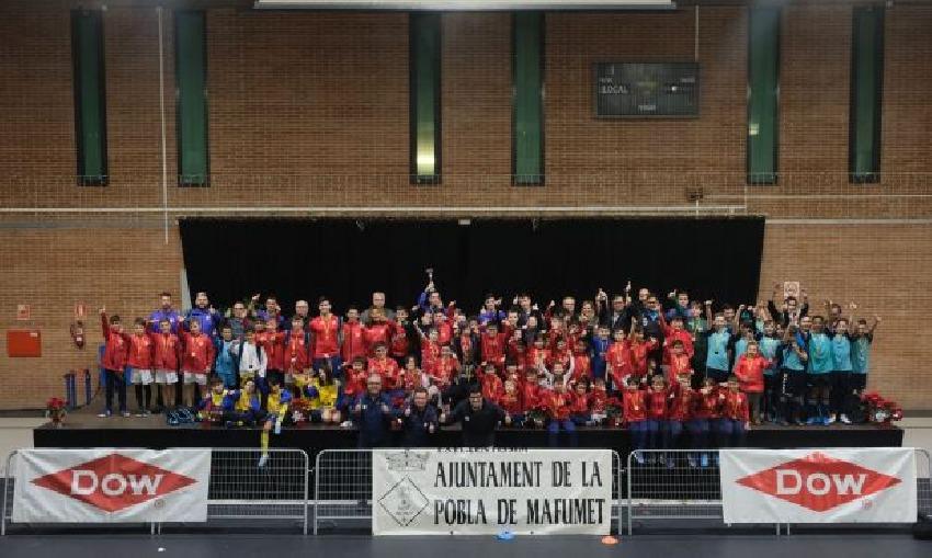 La 23a edición del Torneig de Nadal Dow, un nuevo éxito en diversión y solidaridad