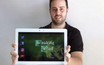 Vladimir Sánchez : 'Divulgar química en Youtube muestra a los jóvenes que la ciencia no es elitista'