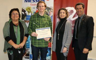 Jorge de Yarza recibe el Premio Work Experience Messer – ETSEQ en su quinta edición