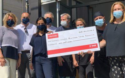 Los colaboradores de BASF recaudan 6000€ para el comedor social de Bonavista