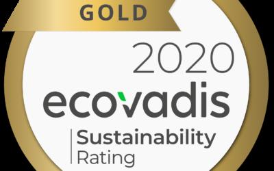 Air Products obtiene la medalla de oro de EcoVadis a la responsabilidad social corporativa por tercer año consecutivo
