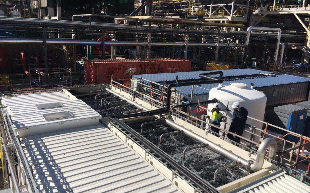 Un proyecto de Eurecat demuestra  que es posible la regeneración del agua residual de la industria petroquímica
