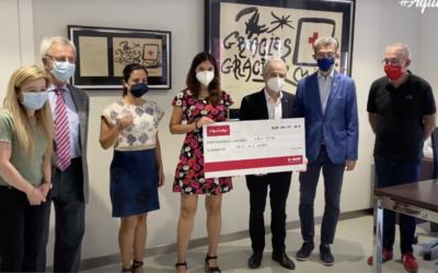 Los colaboradores de BASF donan 6.000 euros a la Cruz Roja