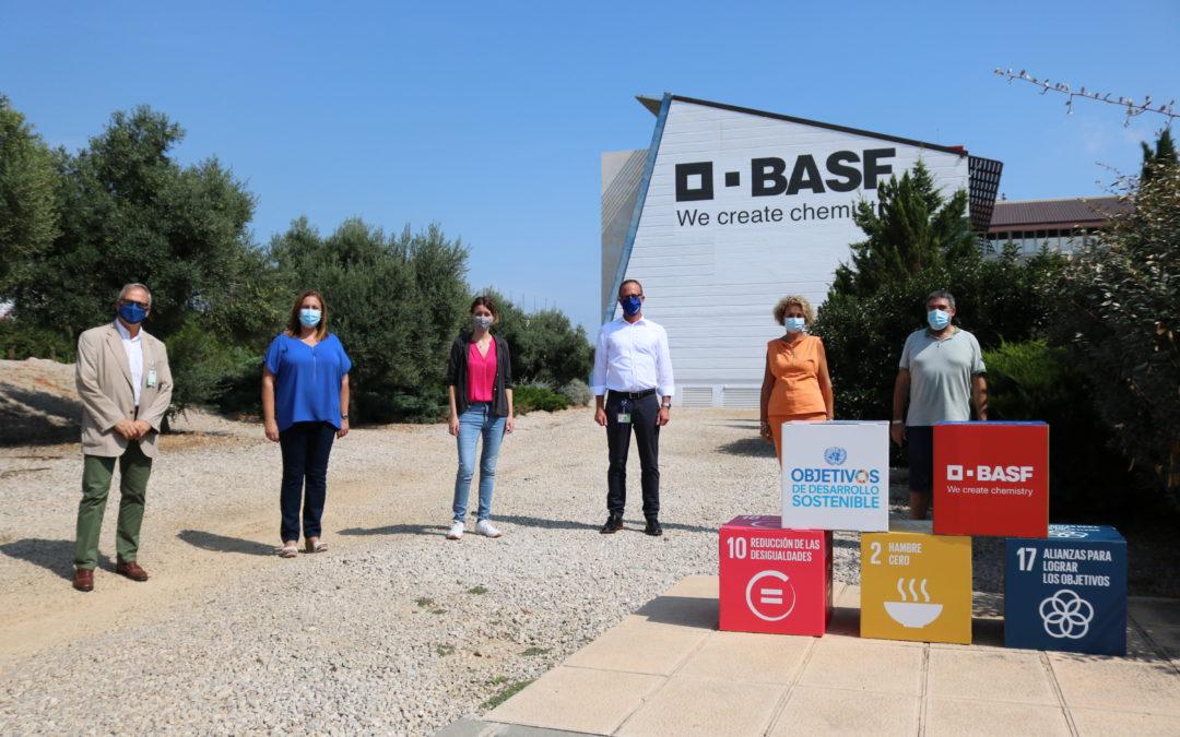 BASF dona su patrocinio para las fiestas de Santa Tecla a los comedores sociales de Tarragona