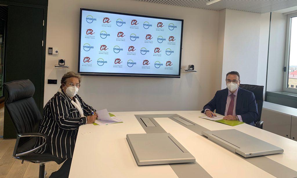 La URV y Enagás firman un acuerdo estratégico para impulsar el Valle del Hidrógeno de Catalunya
