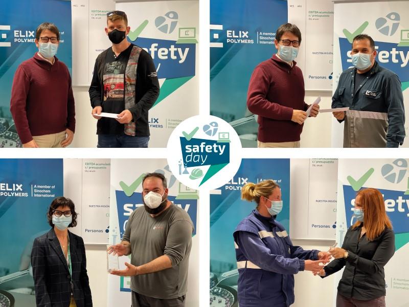 ELIX Polymers otorga los Premios en Seguridad y Prevención durante su Safety Day