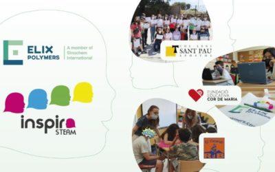 ELIX Polymers participa en el proyecto Inspira STEAM