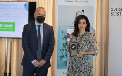 BASF Española, premiada por su cultura de transformación en diversidad e inclusión