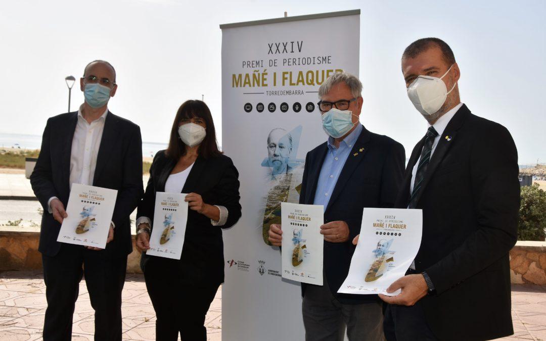 Convocada la XXXIV edición del Premio de Periodismo Mañé i Flaquer