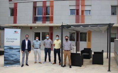 Vopak Terquimsa colabora con la Fundació Casa Sant Josep en la adecuación de la zona recreativa