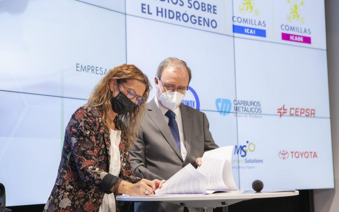 Carburos Metálicos, empresa patrono de la nueva Cátedra sobre el Hidrógeno de la Universidad Pontificia Comillas