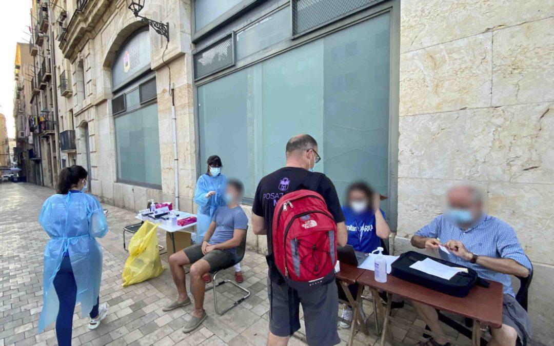 Covestro contribuye al regreso de las actuaciones castelleras en Tarragona donando 100 tests de antígenos