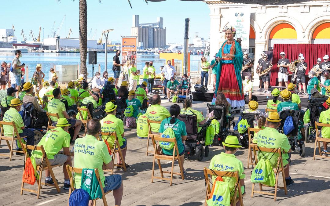 'Festa per a Tothom' despide una nueva edición de la celebración inclusiva de Santa Tecla