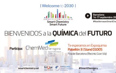 El clúster químico de Tarragona da a conocer sus planes de futuro en una nueva edición de Expoquimia