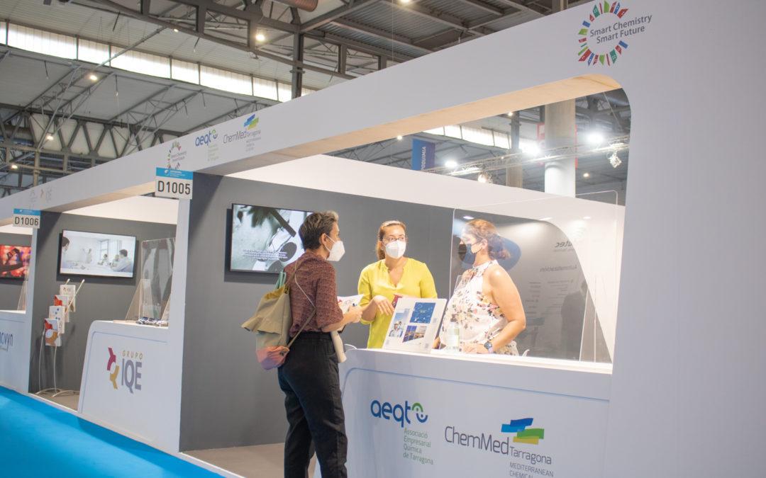 ChemMed y AEQT hacen un balance positivo de su participación en Expoquimia