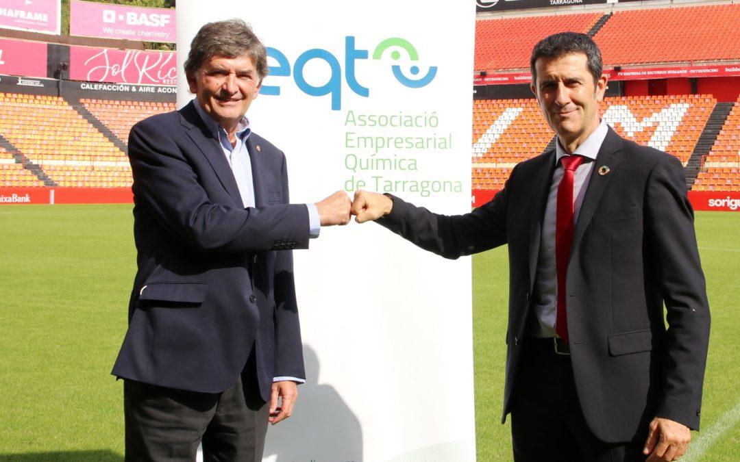La AEQT y el Nàstic renuevan el acuerdo de colaboración